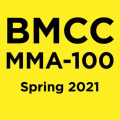 MMA-100 Spring Semester 2021
