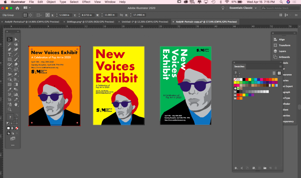 Weeks 9 10 11 Tutorials Recaps Project 3 Poster Design Info Mma 100 Spring 2020 Prof Seslow