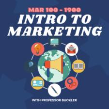 MAR 100-1900 | Intro to Marketing | Professor Buckler | Fall 2021